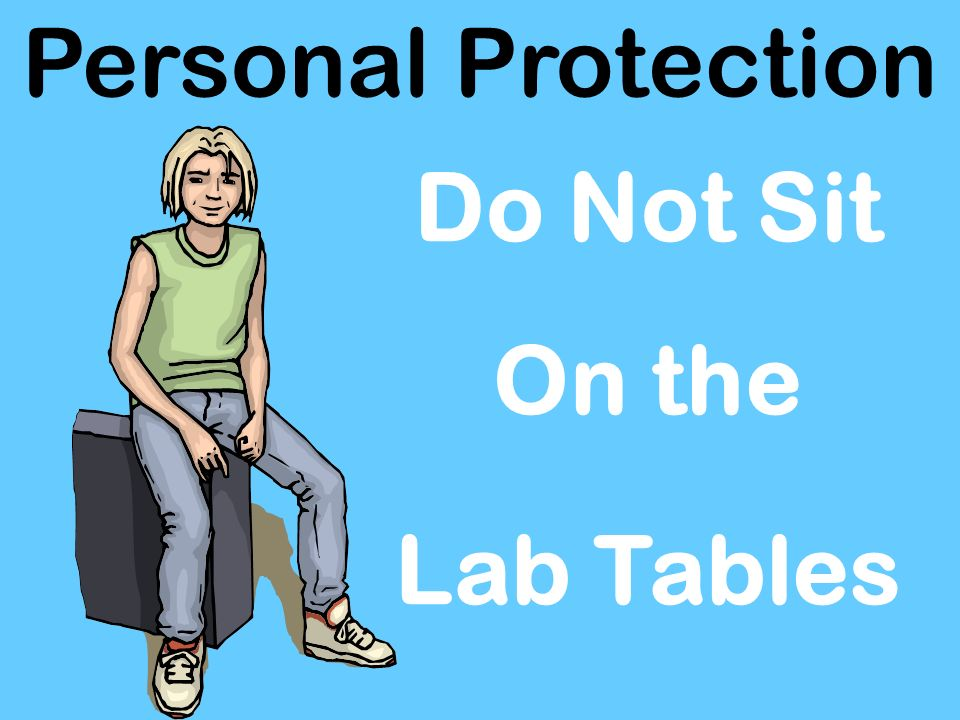 Personal Protection No Horse Play In Lab