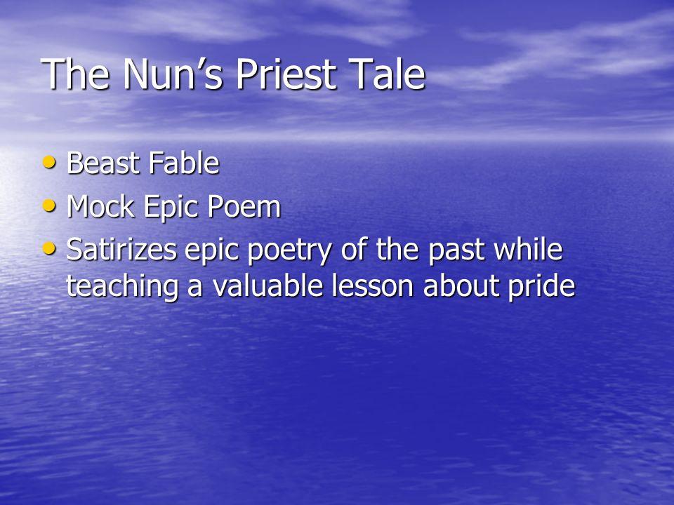 mock epic poem