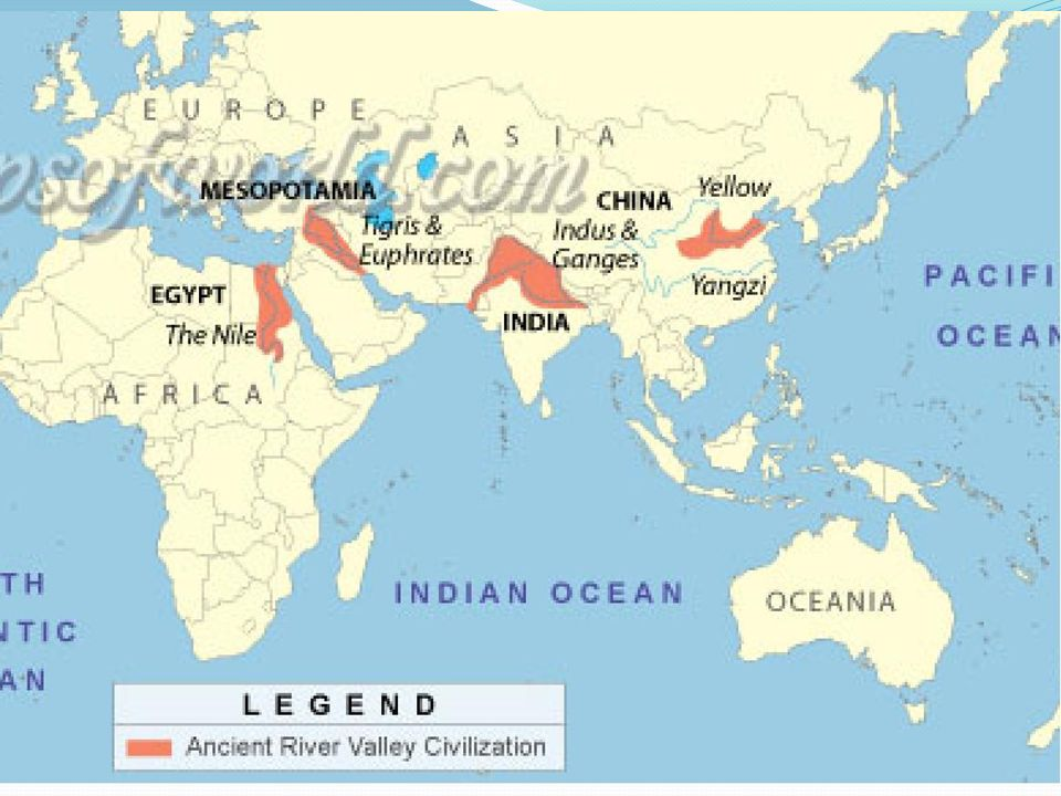 Map Of Asia Euphrates River.Warm Up List Some Things That You Feel Would Be Needed For A