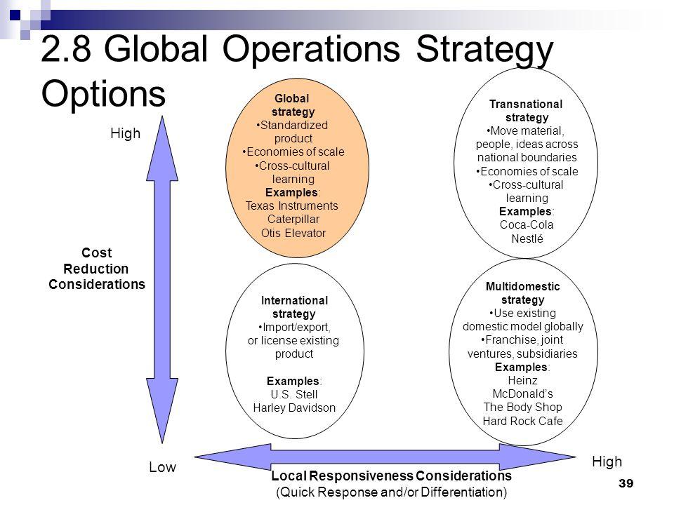 caterpillar global strategy