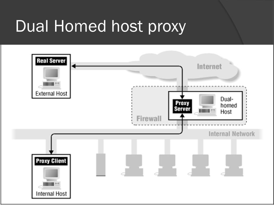 Dual Homed host proxy 13