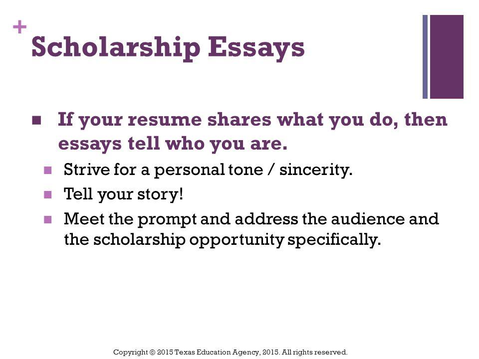 scholarship essays 2015