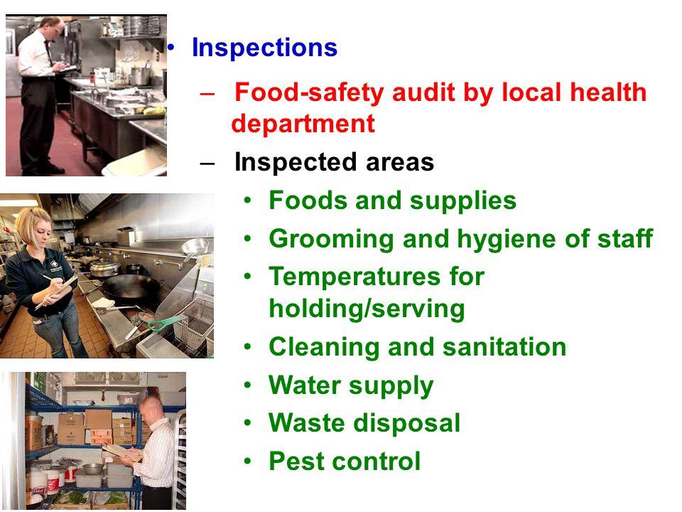 Chapter 2 Sanitation Sanitary Food Handling Receiving Foods