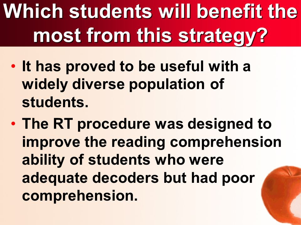 It has proved to be useful with a widely diverse population of students.