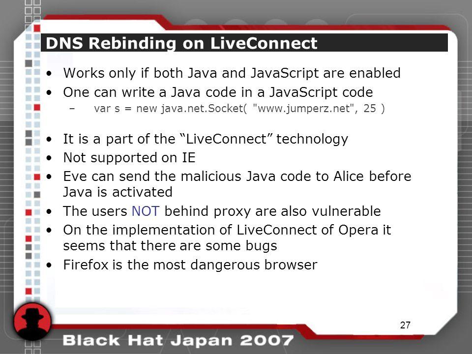 1 DNS Rebinding and Socket API Kanatoko - ppt download