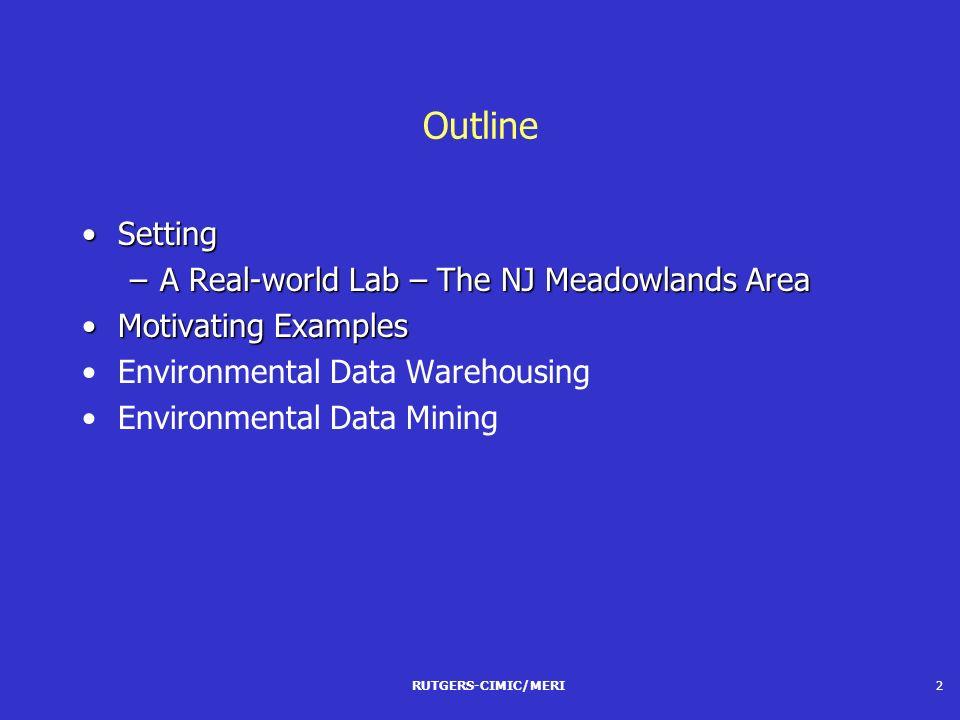 Environmental Data Warehousing and Mining Nabil R  Adam Vijay Atluri