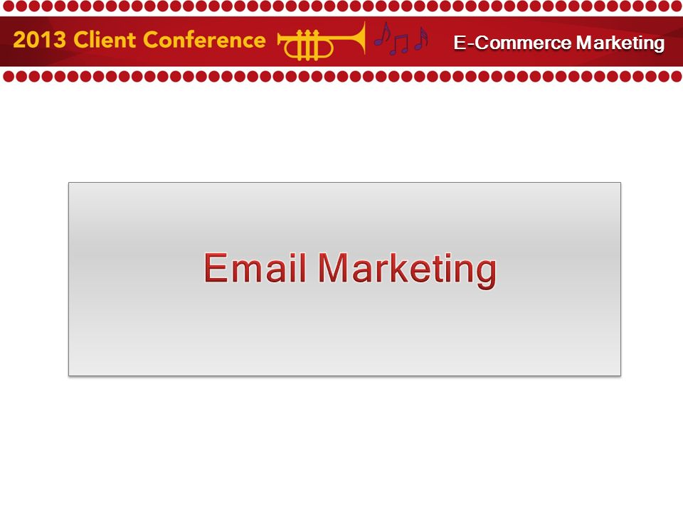 Marketing E-Commerce Marketing