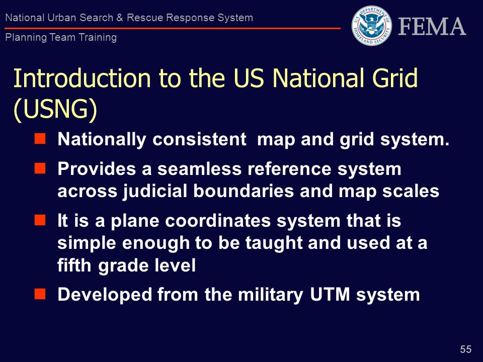 1 National Urban Search & Rescue Response System Planning Team ...