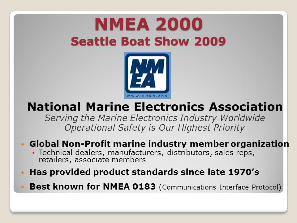 National Marine Electronics Association Your Boat Show 2009