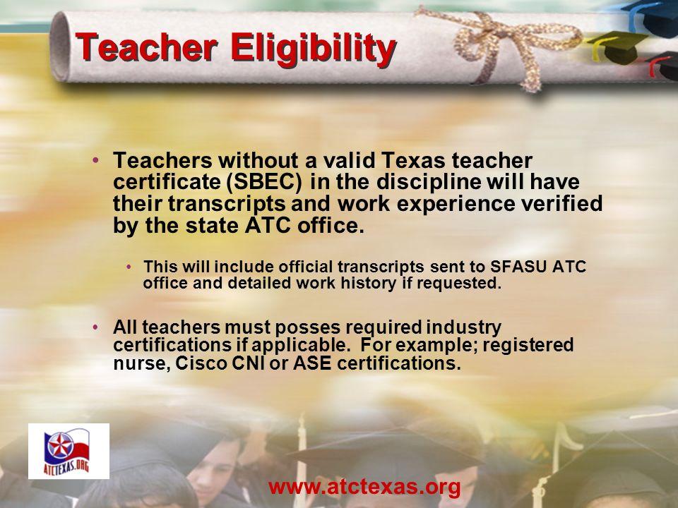 Teacher Professional Development For Statewide Articulation Advanced