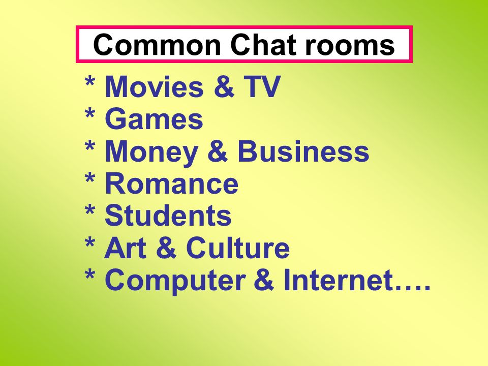 Activity One Activity Two Some Facts about Cyberspace ICQ
