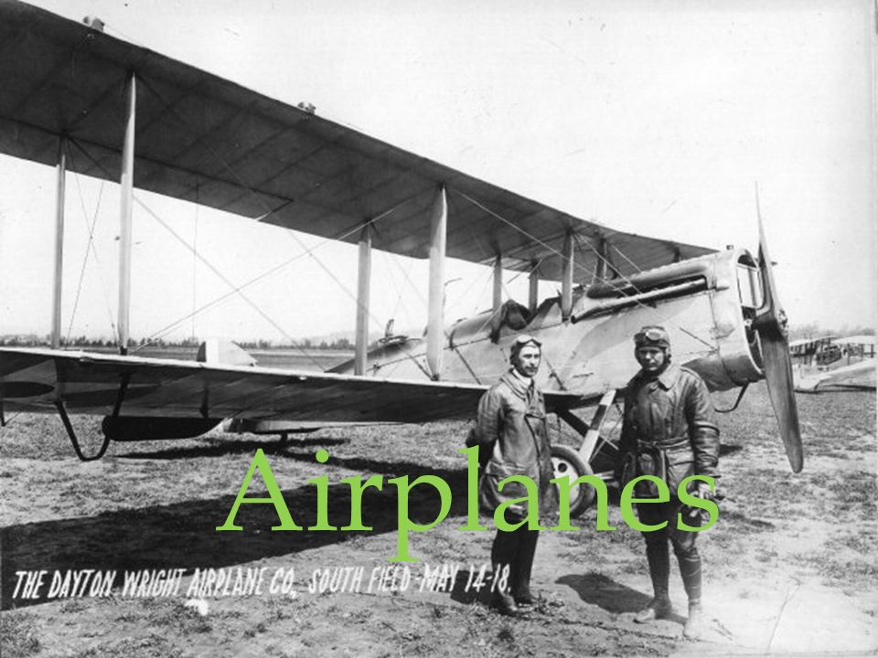 Airplanes  Who Invented the airplane Wright brothers