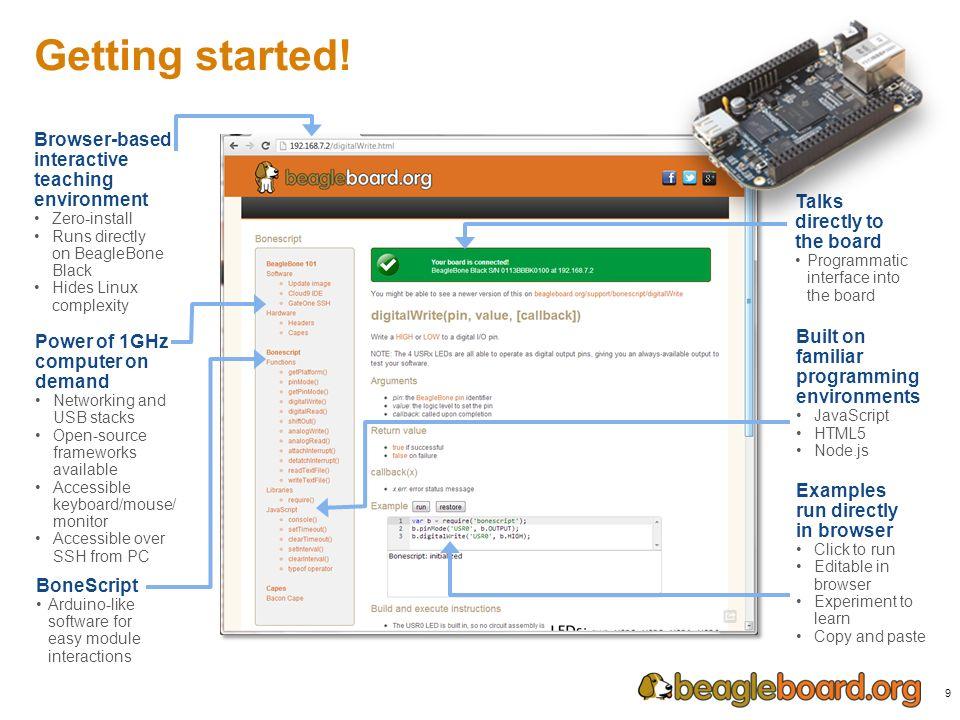 JavaScript, Linux and Open Hardware Jason Kridner Co-Founder