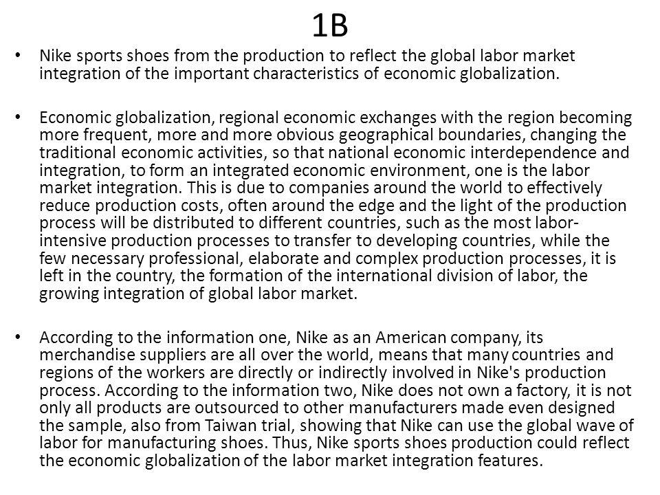 nike globalization facts