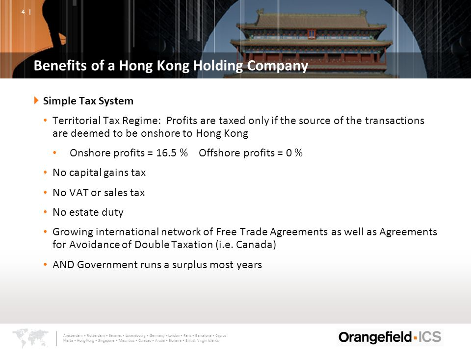 Leveraging Hong Kong As A Platform For Asia Presented By Margaret A