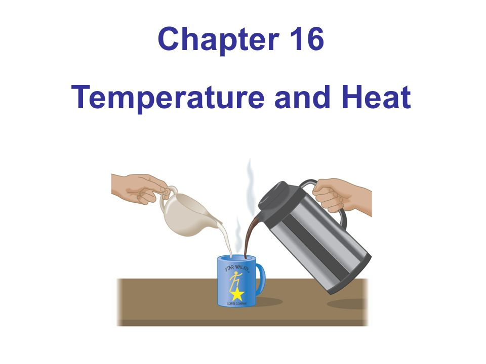 Chapter 16 Temperature and Heat
