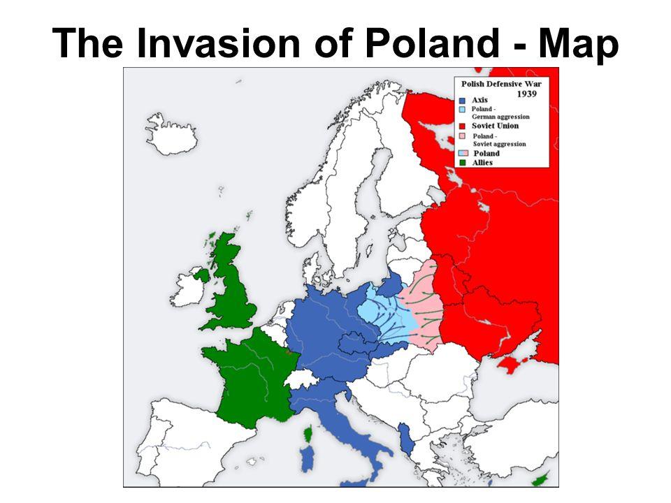 Ww2 Poland Map.Notes 6 The Beginning Of World War Ii In Europe Modern U S History