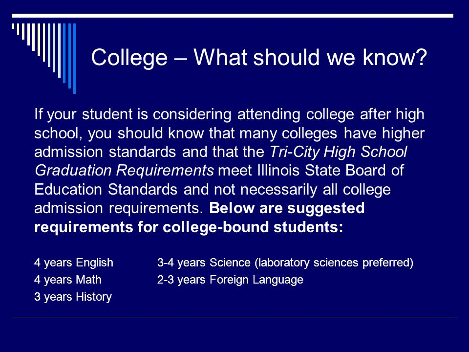 College – What should we know.
