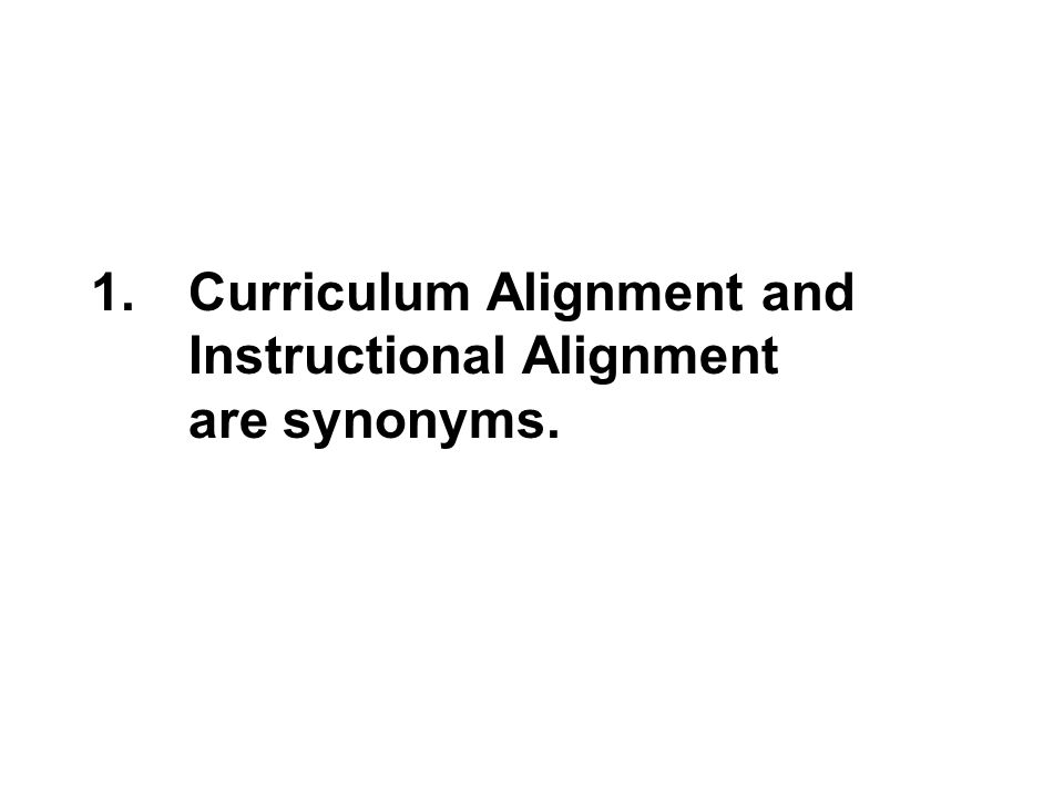 Total Instructional Alignment Defining Designing And Aligning