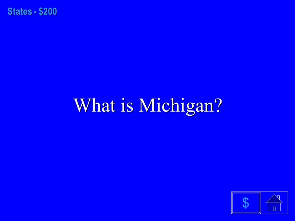 States - $100 What is Alaska $