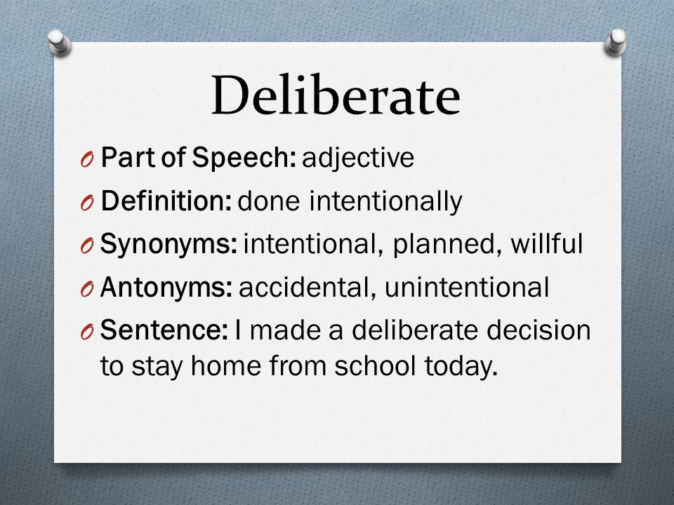 Derision O Part of Speech: noun O Definition: contemptuous