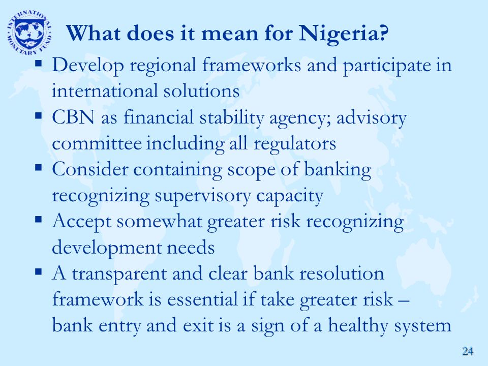 24 What does it mean for Nigeria.