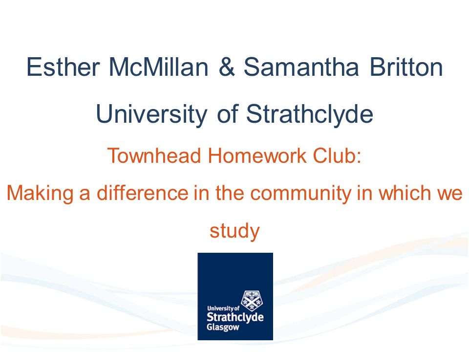 townhead homework club