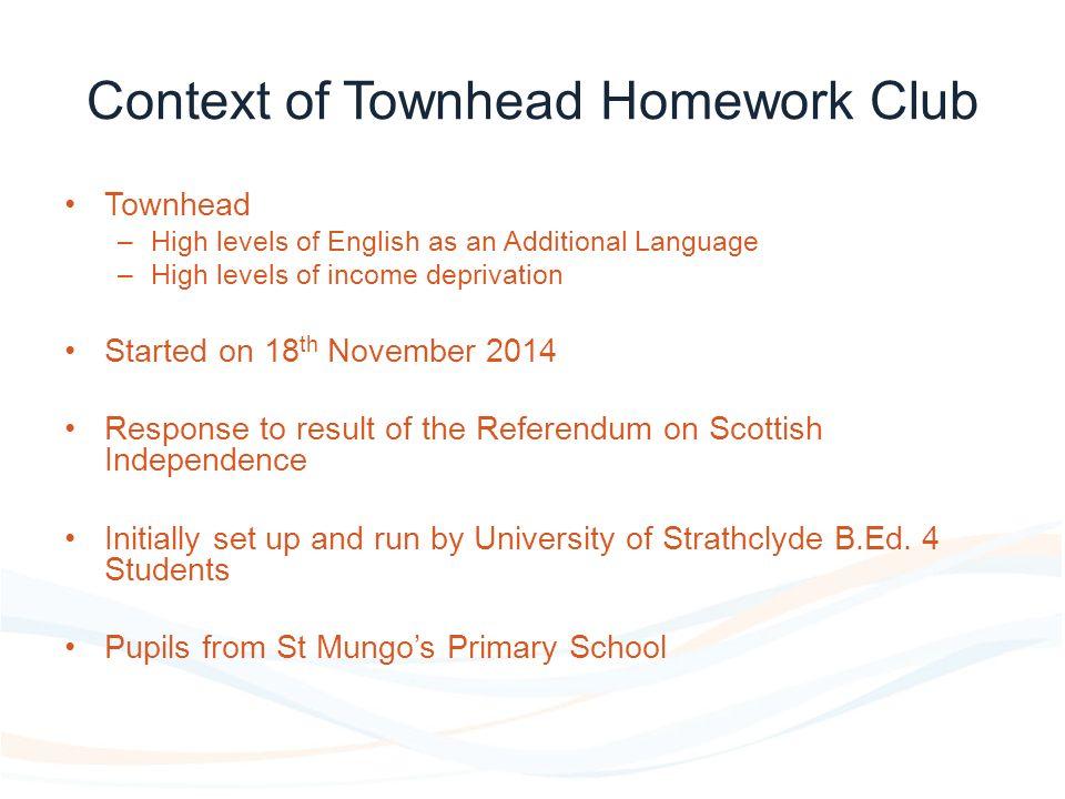 townhead homework club
