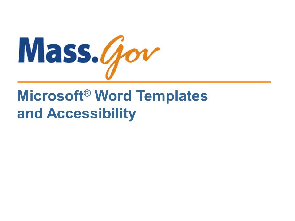 Microsoft word templates and accessibility 1 what is a word 1 microsoft word templates and accessibility maxwellsz