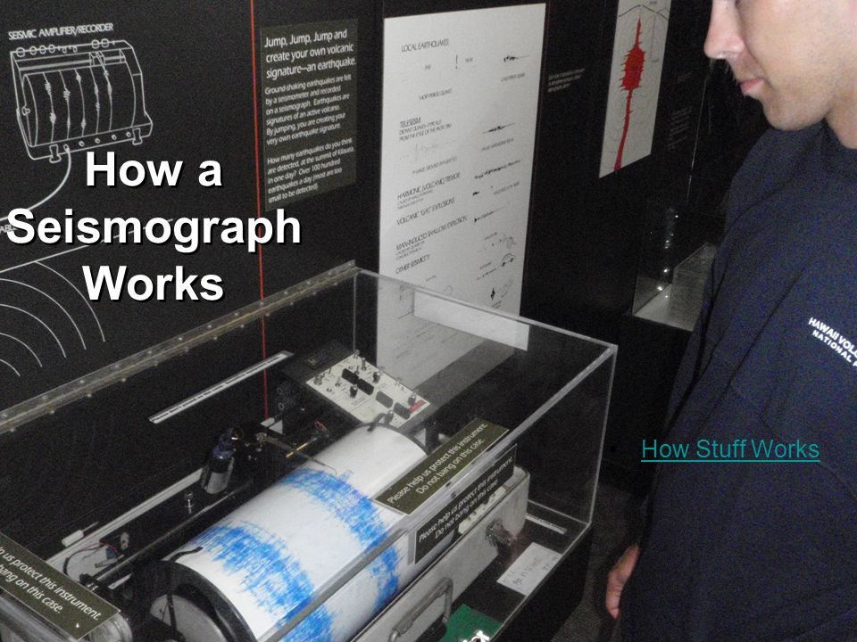 How a Seismograph Works How Stuff Works