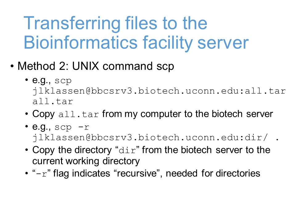 MCB Lecture #3 Sept 2/14 Intro to UNIX terminal  - ppt download