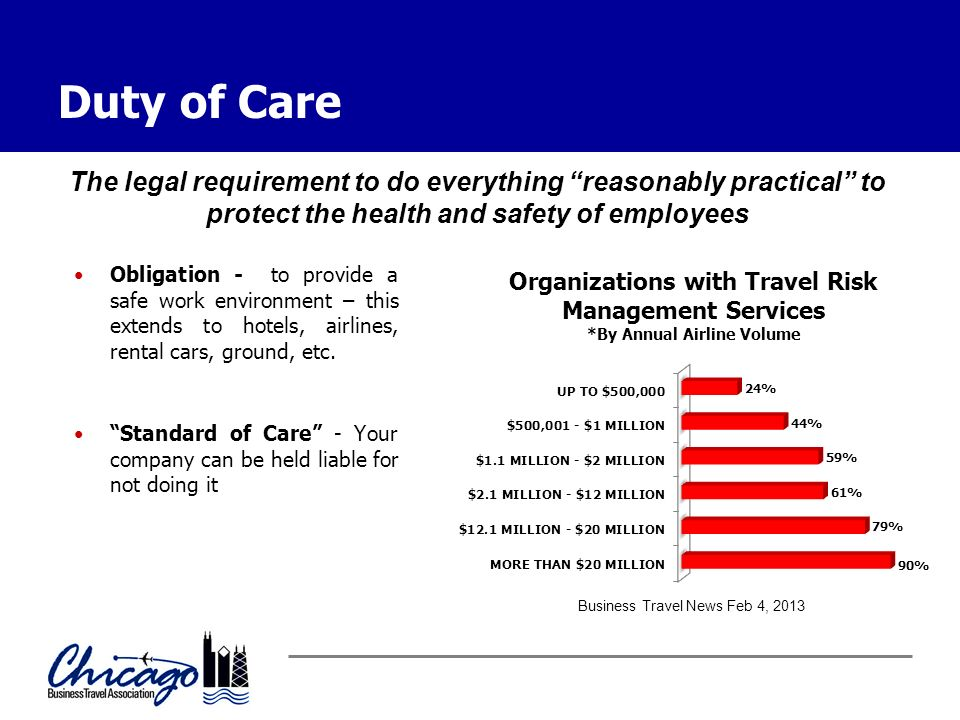 Duty Of Care Obligation