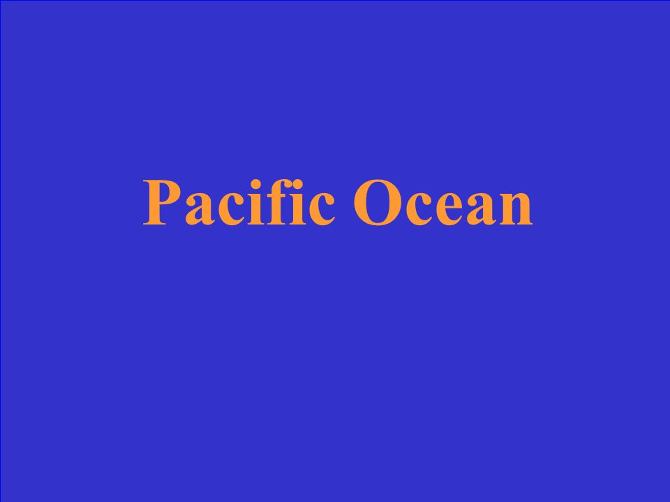 What is the largest ocean