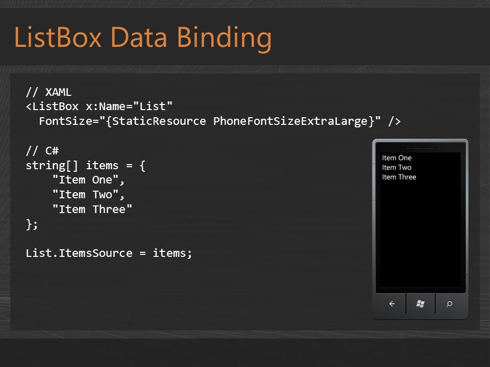 Charles Petzold Controls and Data Binding  - ppt download