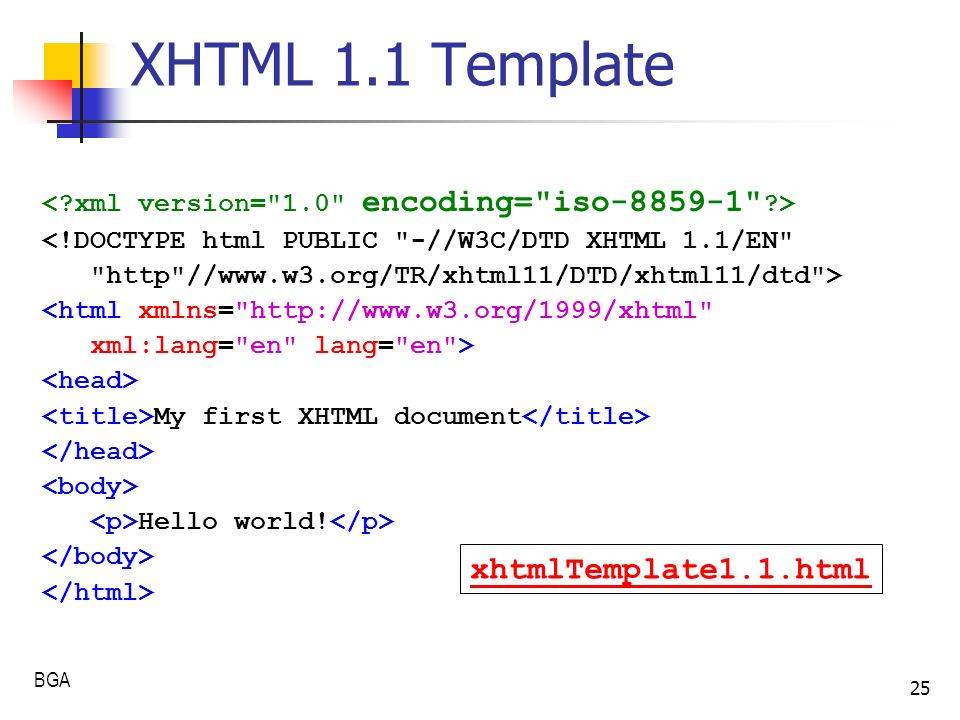 Visual studio 2008 xhtml 1. 1 templates codeplex archive.