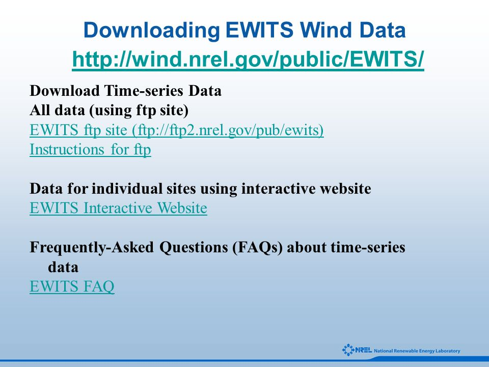 Eastern Wind Integration and Transmission Study Overview January 28