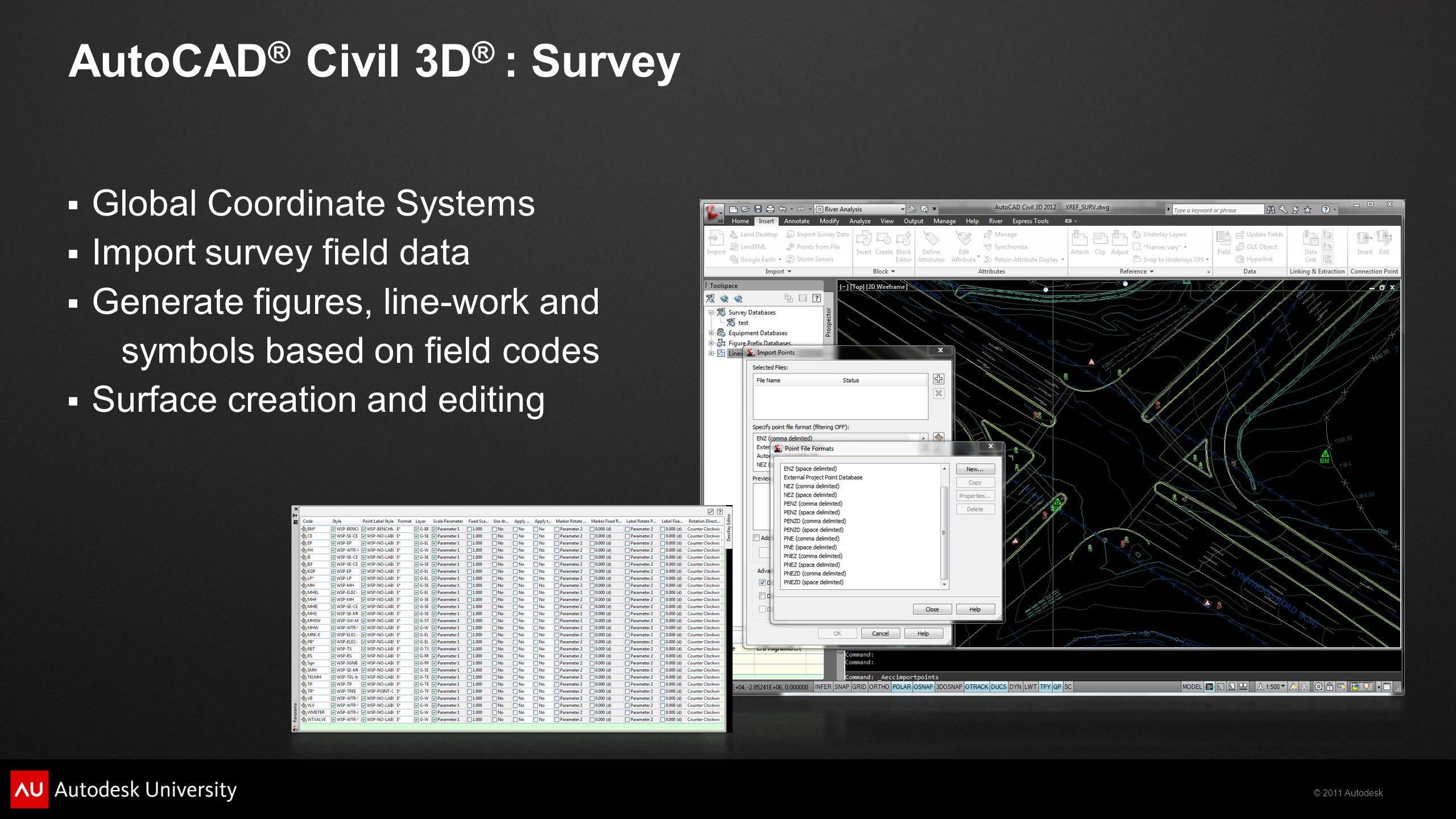 2011 Autodesk MP Programs in 90 Minutes Michael O'Toole