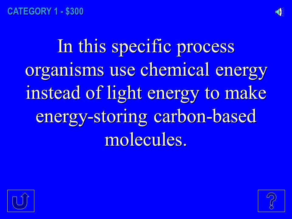 CATEGORY 1 - $200 An ATP molecule is created by this molecule combining with a single phosphate group.