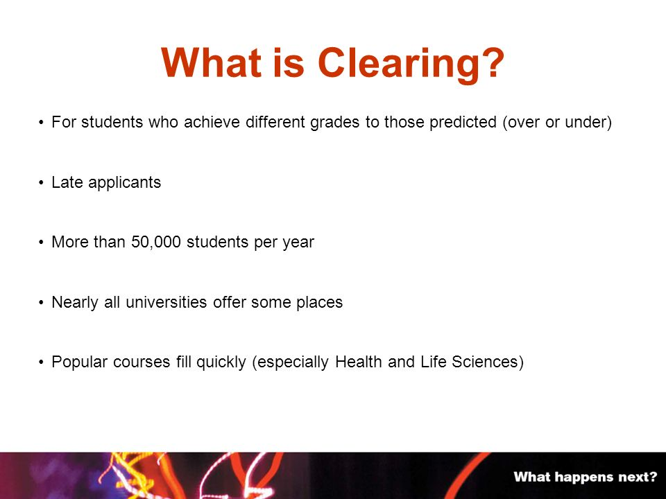 What is Clearing.