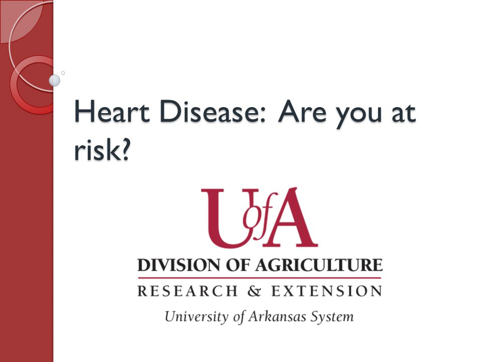 Heart Disease: Are you at risk