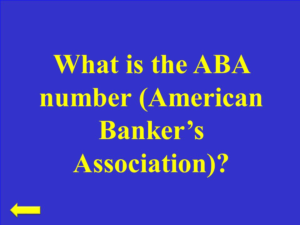 The number assigned to a specific bank noted at the bottom of checks and deposit slips in magnetic ink characters Checking– 300