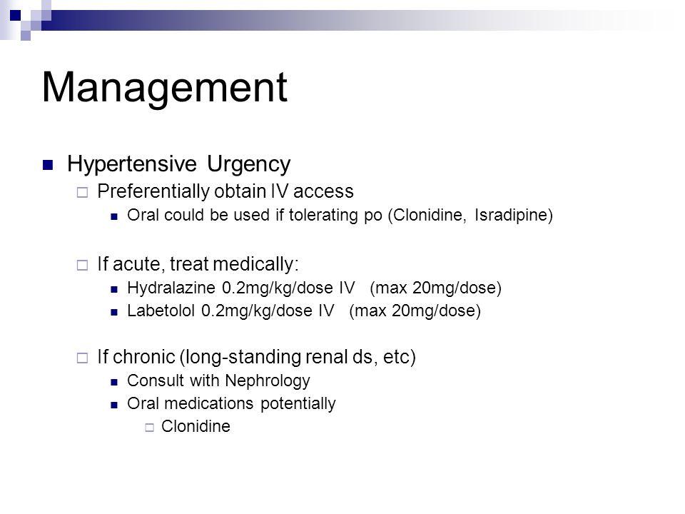 The Clonidine Dosage For Acute Hypertension {Forum Aden}