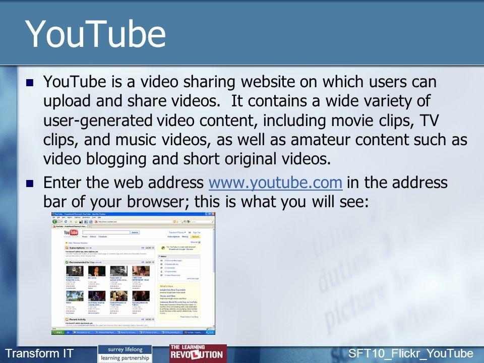 amateur video upload sharing