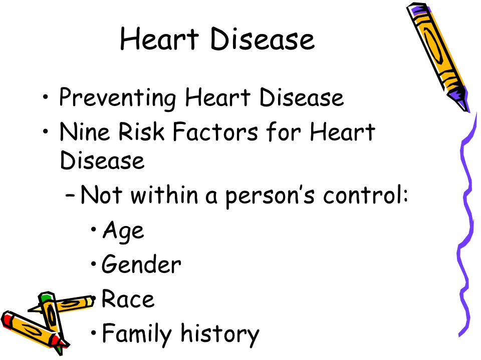 Heart Disease –There are no outward signs of High Blood Pressure until it has caused serious damage.