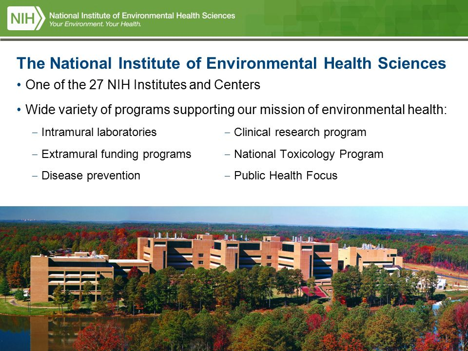 2 National Institutes Of Health US Department And Human Services The Institute Environmental Sciences
