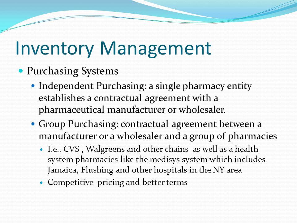 pharmacy inventory system