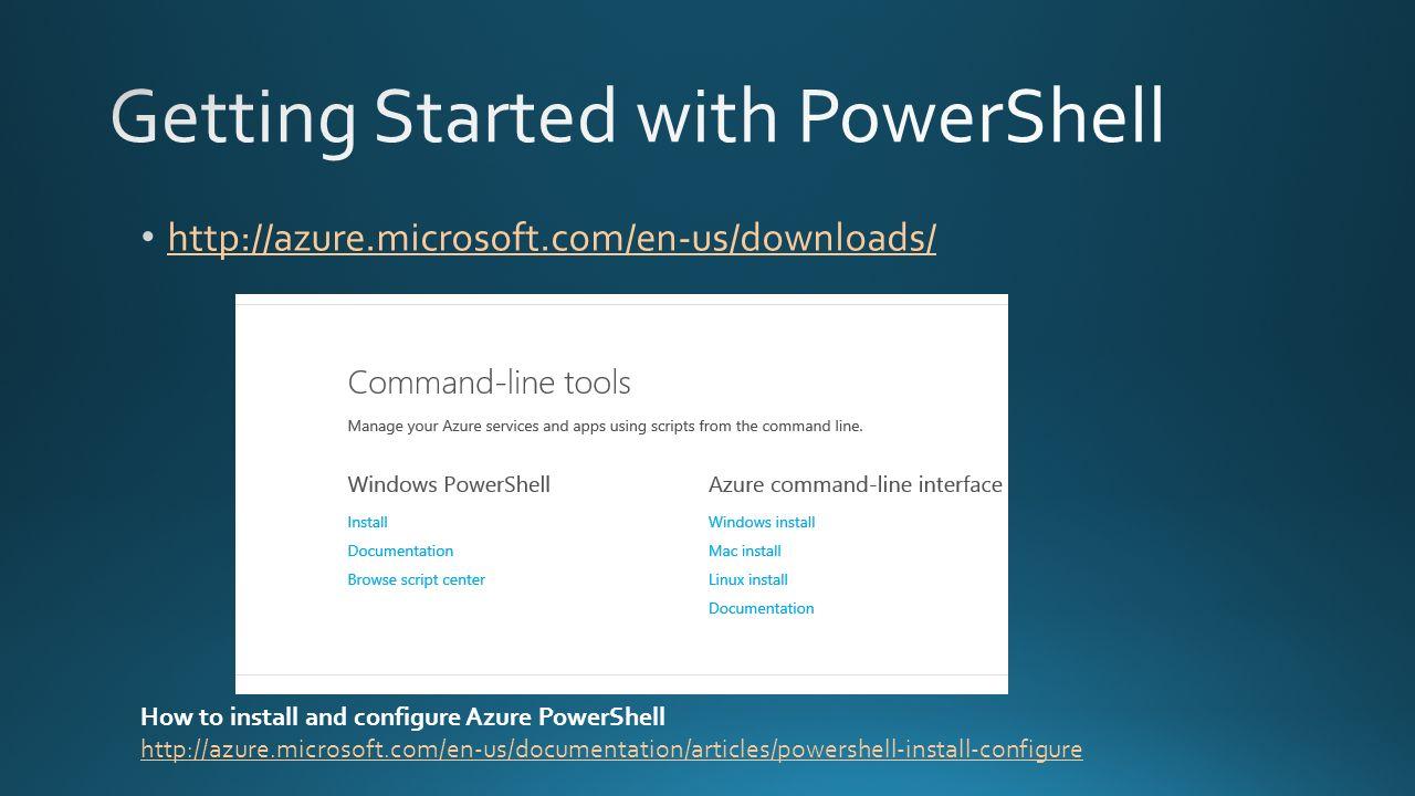 Automate Microsoft Azure Ross Sponholtz Mark Ghazai  - ppt