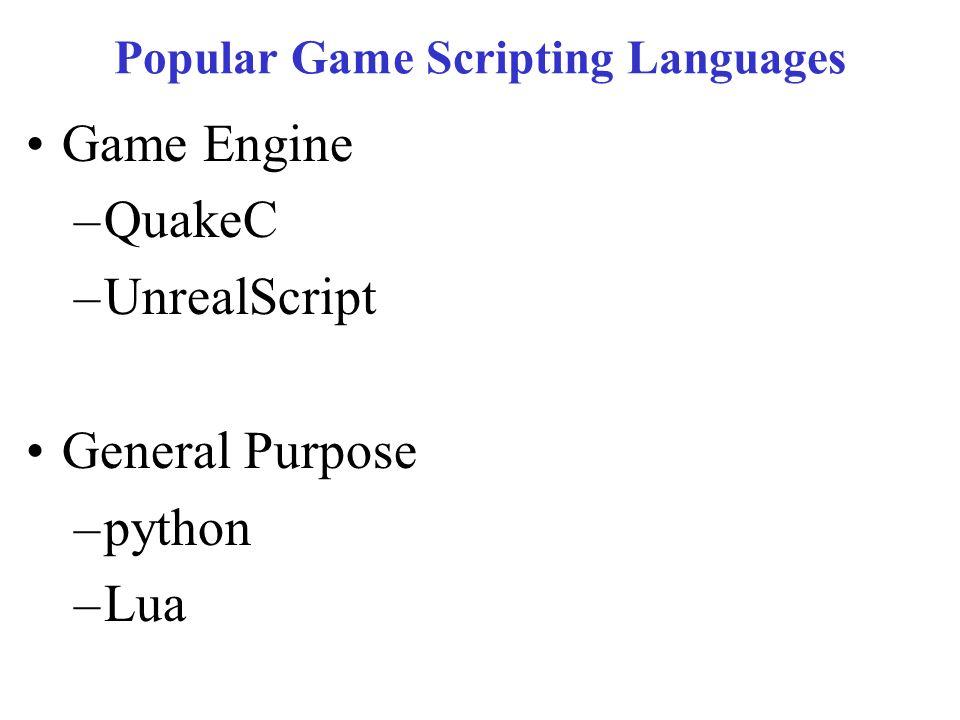 CSE 380 – Computer Game Programming Scripting and Lua Lua  - ppt