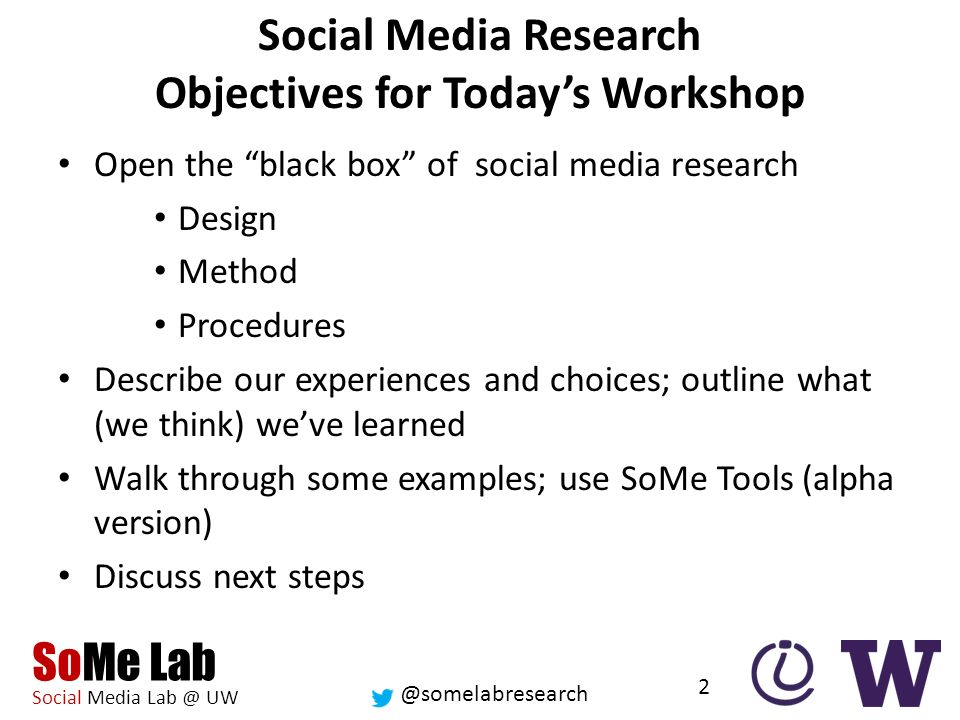 Somelabresearch Some Lab Social Media Uw This Research Was Made Possible By Nsf Award Inspire Tools Models And Innovation Platforms Ppt Download