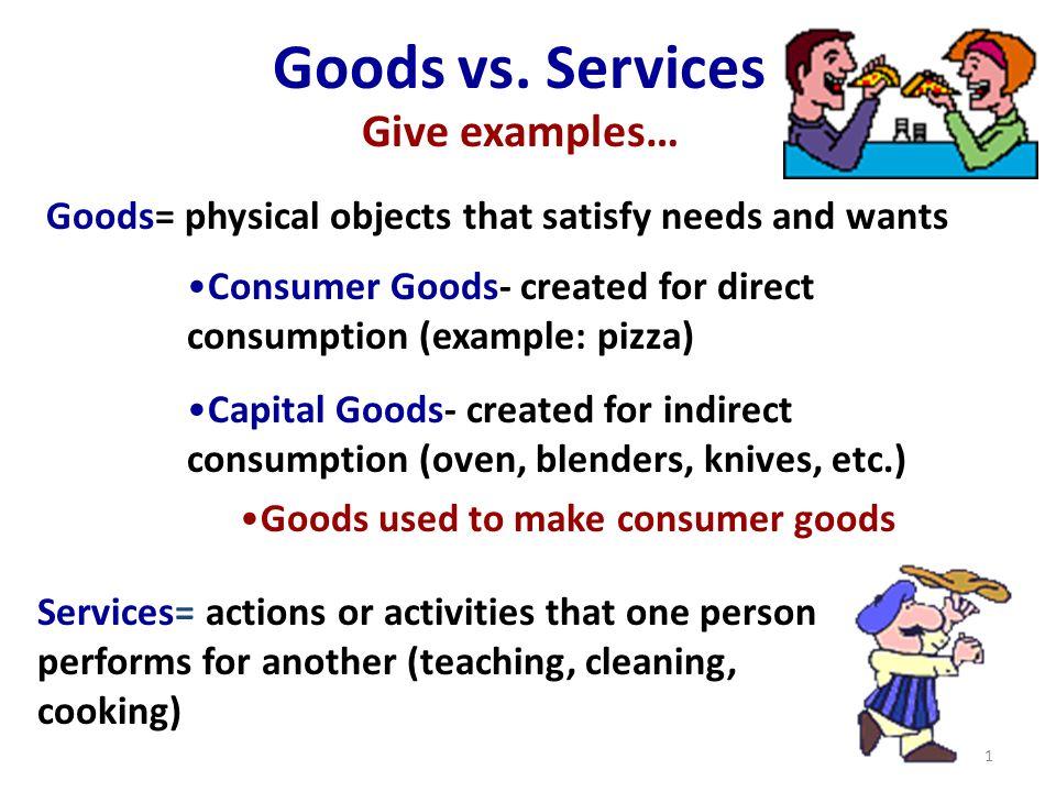 capital goods vs consumer goods